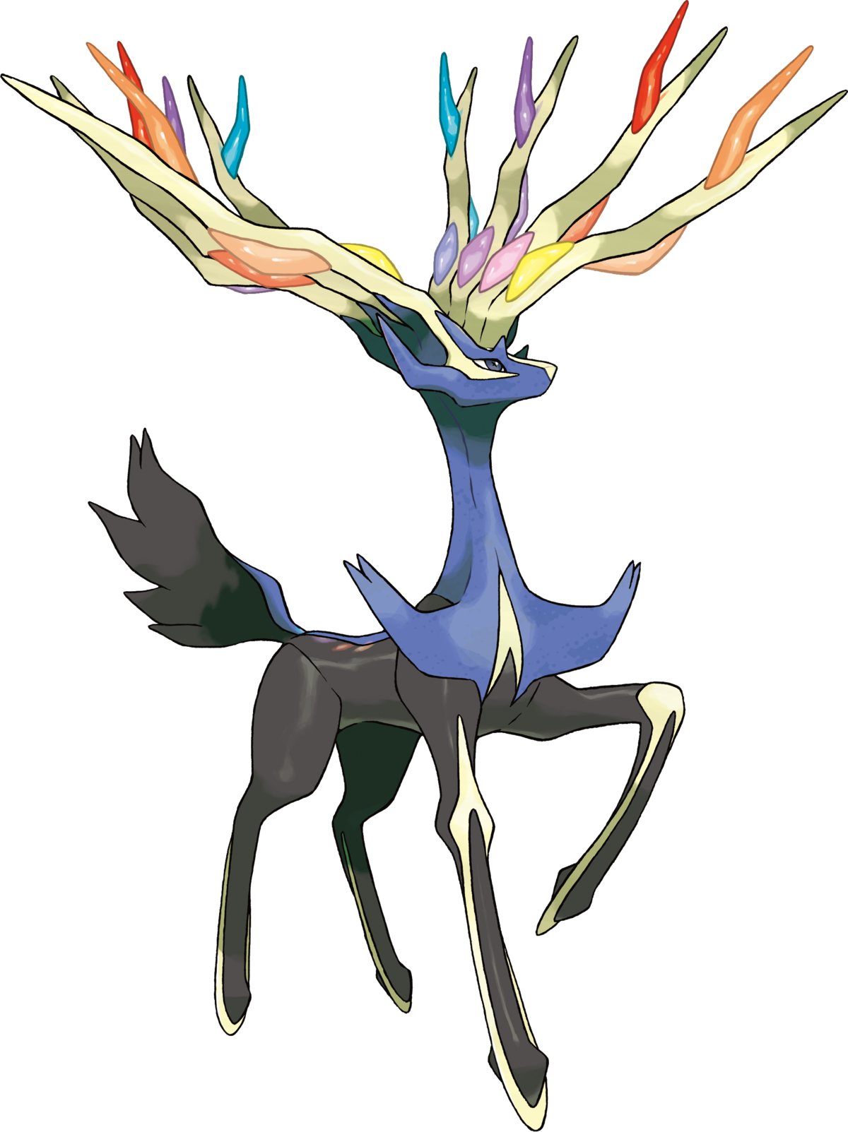 Pokemon coloring pages xerneas - Pokemon Coloring Pages Xerneas 52