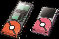 The newest model of the Unova Pokédex