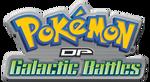 Logo of Pokémon: DP Galactic Battles - Season 12