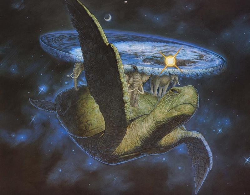 Discworld illustration by Paul Kidby