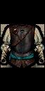 Armatura della guardia con i colori di Toussaint