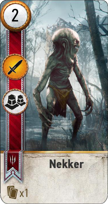 Tw3 gwent card face Nekker 3.png