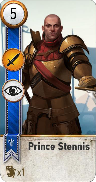 Tw3 gwent card face Prince Stennis.png