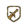 Danni al secondo - spada d'argento