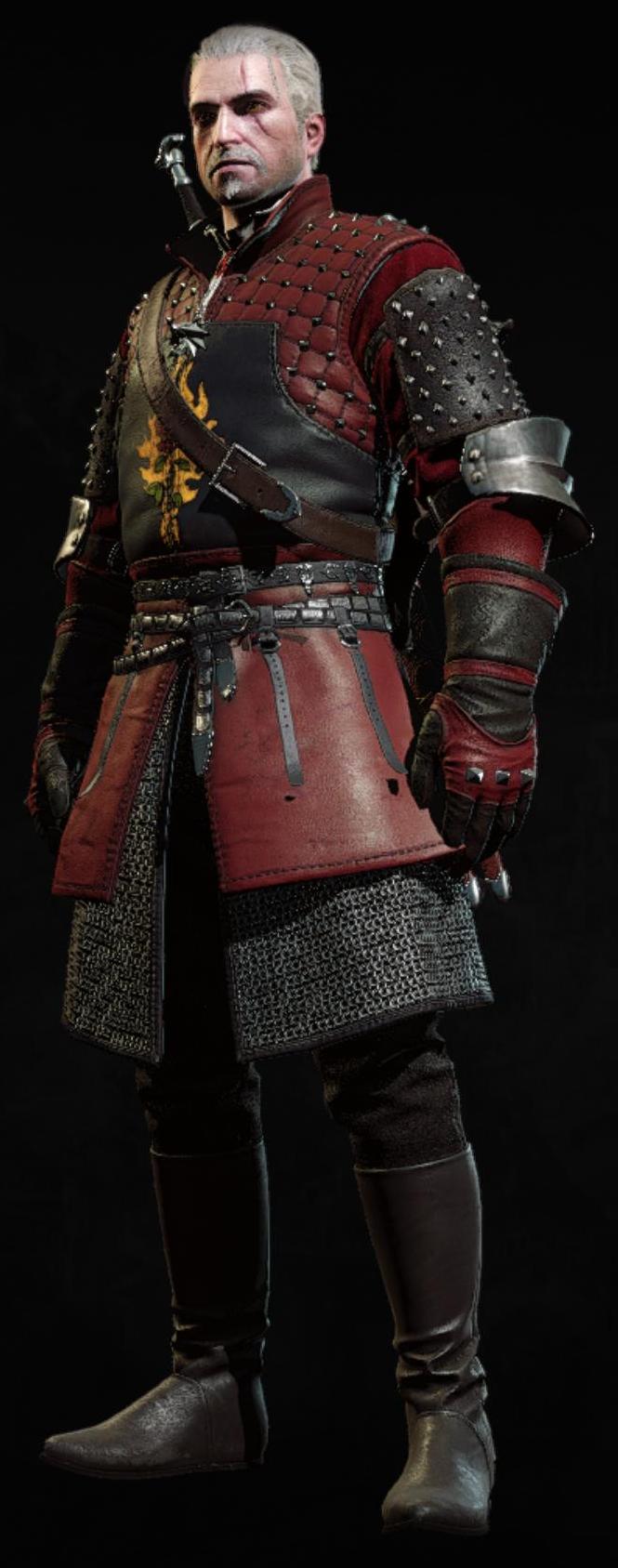 Rüstung des Ordens der Flammenrose