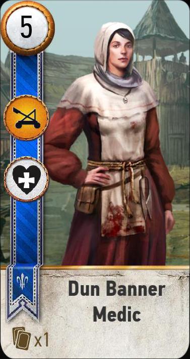 Tw3 gwent card face Dun Banner Medic.png