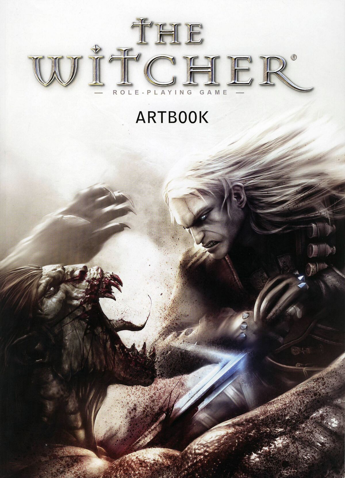 the witcher artbook