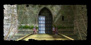 the gate to New Vizima
