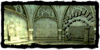 Elven ruins in the sewers