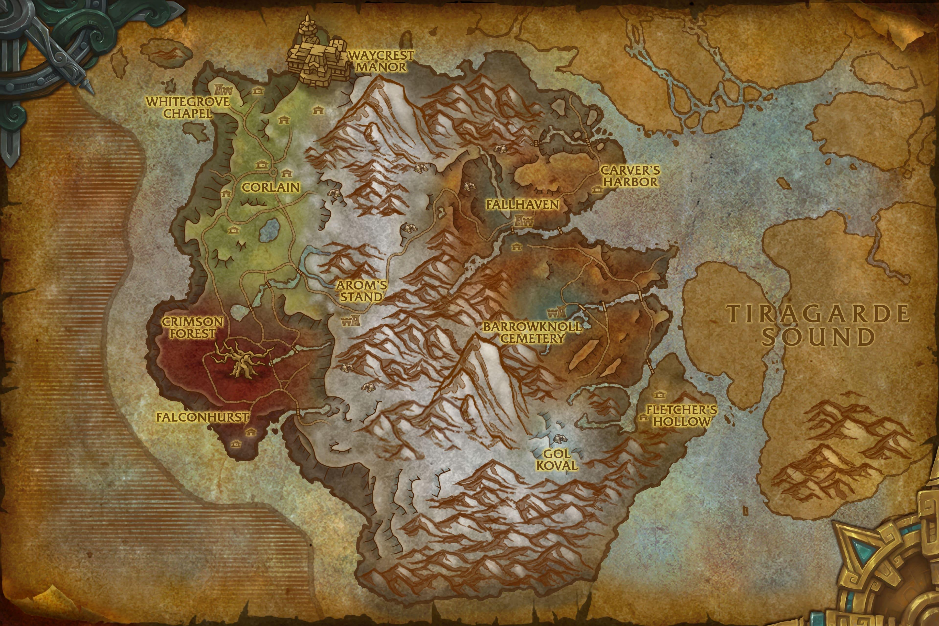 Map of Drustvar
