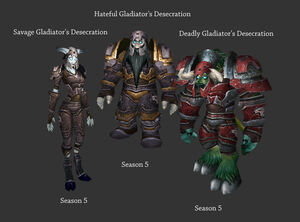 Death Knight Arena Sets