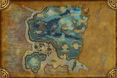 Dread Wastes map