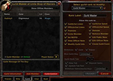 Guild List Interface (Default UI)