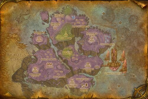 world of warcraft map levels. Level: 67-68
