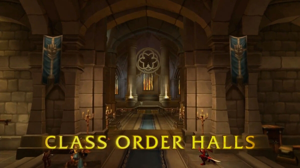Best Order Hall Advancement Choices for Every Class in WoW ... |Class Order Halls Map