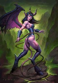 Xia, Queen of Suffering TCG.jpg