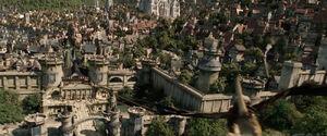 Stormwind City (film) gryphon landing.jpg