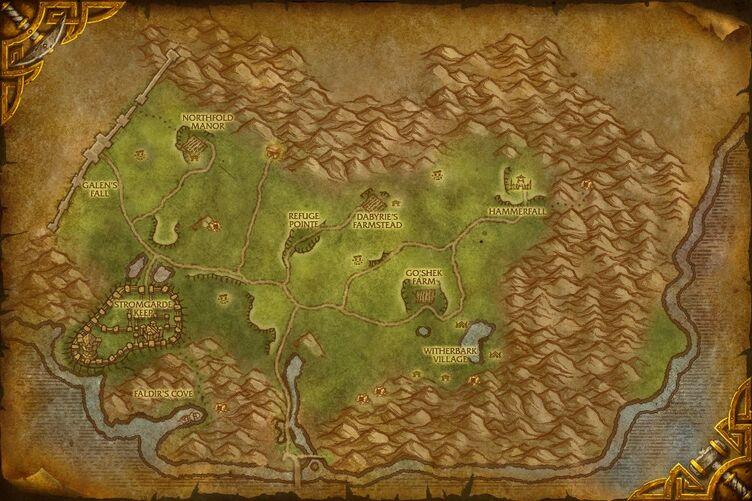 Jesse James Tattoo: world of warcraft map eastern kingdoms