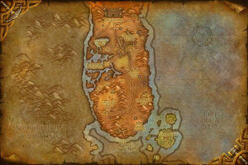 Durotar map