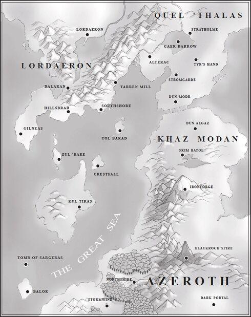 Warcraft II - Map of Eastern Kingdoms.jpg