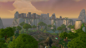 The Celestial Court and Ordon Sanctuary on Timeless Isle