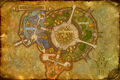 Map of Shattrath City