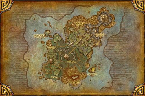 Isle of Thunder map