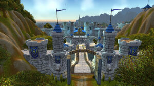 Stormwind City gates