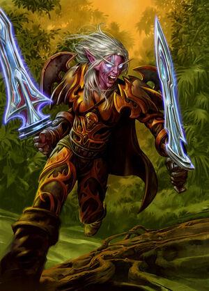 night elf warrior