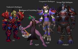 Warrior Faction Sets