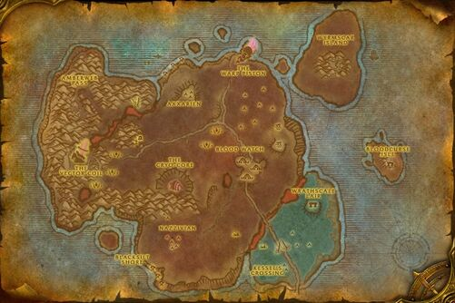 world of warcraft map. to the World of Warcraft