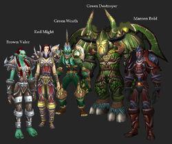 Warrior Un-Sets