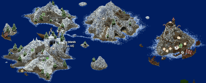 Wynncraft Icy Island How To Get There
