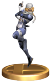 SSBB Sheik Trophy Model.png