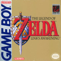 US box art for Link's Awakening
