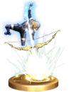 SSBB Light Arrow (Sheik) Trophy Model.png