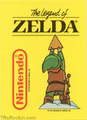TLoZ Nintendo Game Pack Link holding the Triforce of Wisdom and Logos Sticker.png