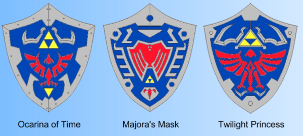Does Anyone Know The Meaning Behind Design Change Of Hylian Shield In Majoras Mask