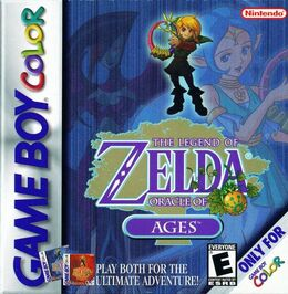 Oracle of Ages US Boxart