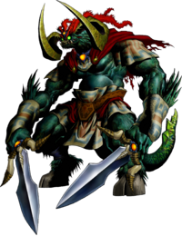 Ganon in Ocarina of Time