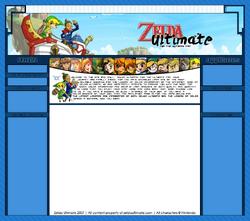 Zelda Ultimate's Third Design