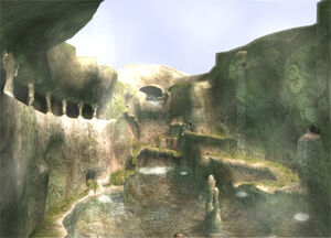Zora's Domain in Twilight Princess