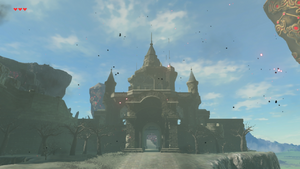 Hyrule Castle Breath Of The Wild Zelda Wiki