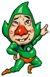 Tingle, as he appears in Tingle's Love Balloon Trip
