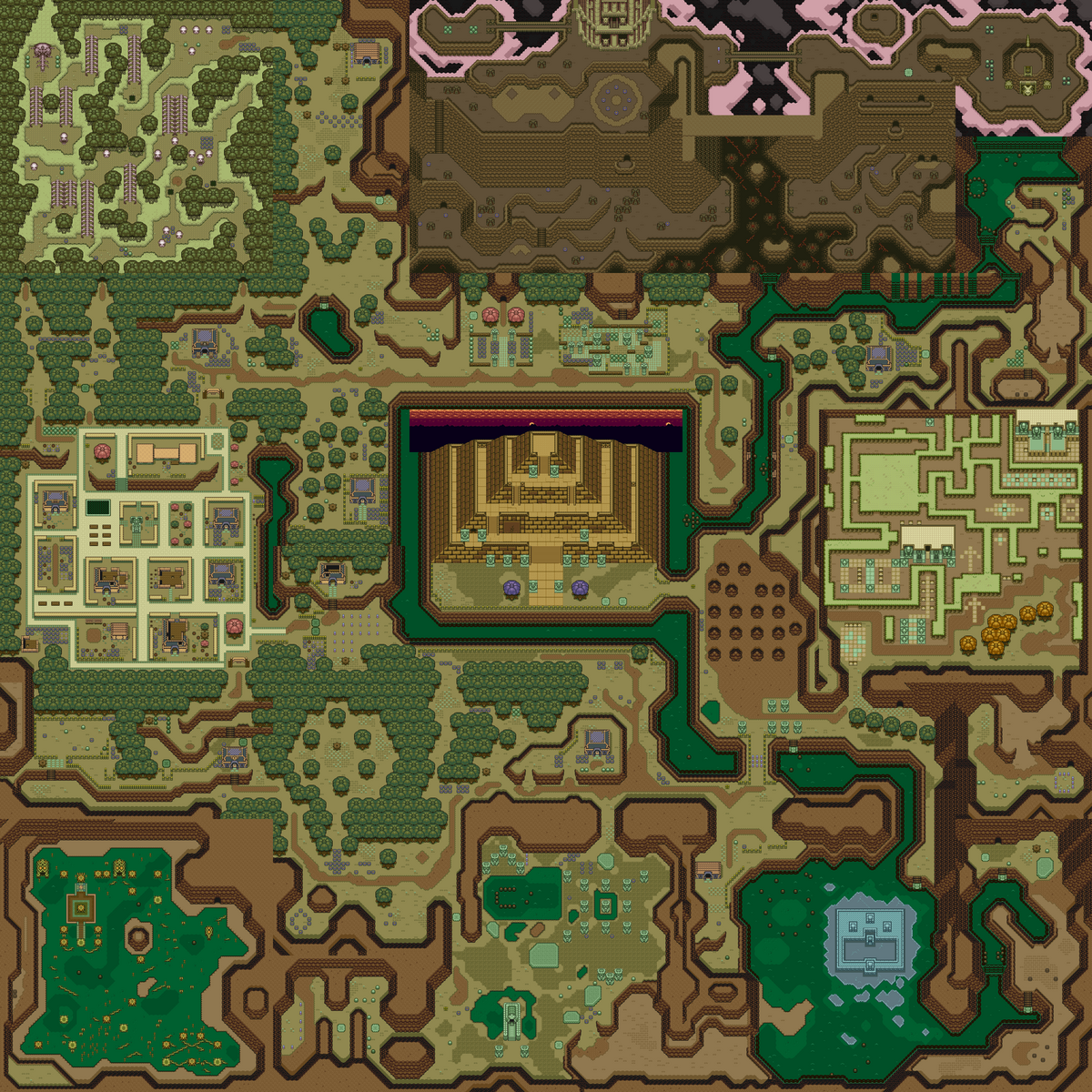 Dark World  Zelda Wiki
