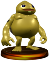 SSBM Goron Trophy Model.png