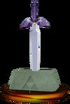SSBM Master Sword Trophy Model.png