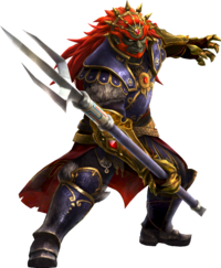 HWL Ganondorf Thief's Trident Artwork.png