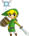 Link in Phantom Hourglass