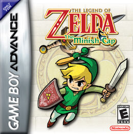 US boxart for The Minish Cap